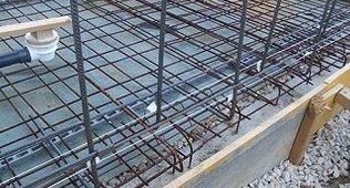 Bevorzugt Bodenplatte für einen Pool selber Armieren DY49