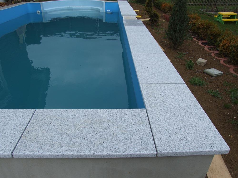 Beckenrandsteine Aus Terrassenplatten Selber Gemacht: