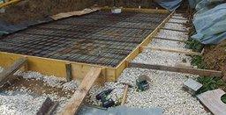 poolsysteme erkl rt und bodenplatte f r einen pool vorbereiten und betonieren. Black Bedroom Furniture Sets. Home Design Ideas